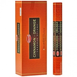 Hem Cinnamon Orange Incense (Hex)